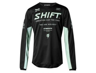 Shift WHIT3 LABEL BASALT JERSEY LE [BLK]