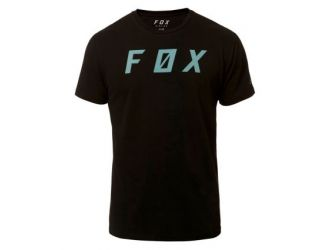 FOX BACKSLASH SS AIRLINE TEE [BLK]