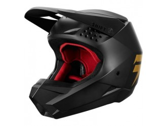 Shift WHIT3 LABEL HELMET - YOUTH [BLK/GLD]