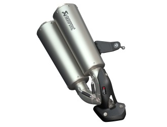 Akrapovic Evacuare Low Mount Slip On