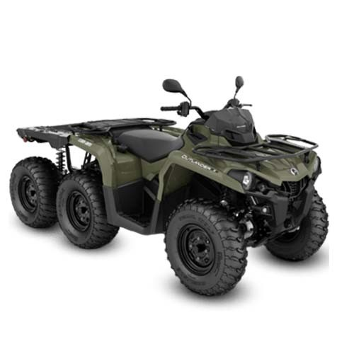 ATV 6x6 Can-Am Outlander 6x6 450 T Flat Bed '20