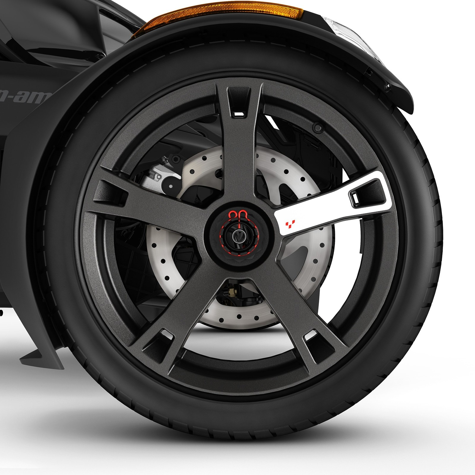Color trims Can-am  Bombardier Wheel Decals