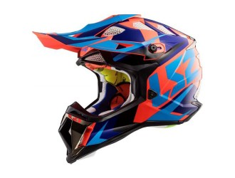 LS2 MX470 Subverter Nimble Black Blue Orange
