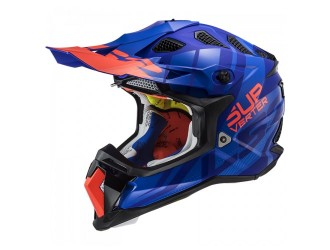 LS2 MX470 Subverter Troop Matt Blue Orange