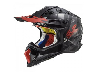 LS2 MX470 Subverter Troop Matt Black Red