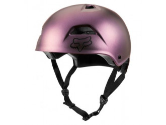 FOX FLIGHT SPORT HELMET [BLK IRI]