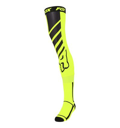 Sosete FOX MACH ONE KNEE BRACE SOCK [FLO YLW]