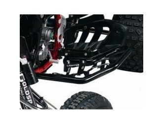 ALU NERF BAR YAM YFZ450 RACING BLACK COATED
