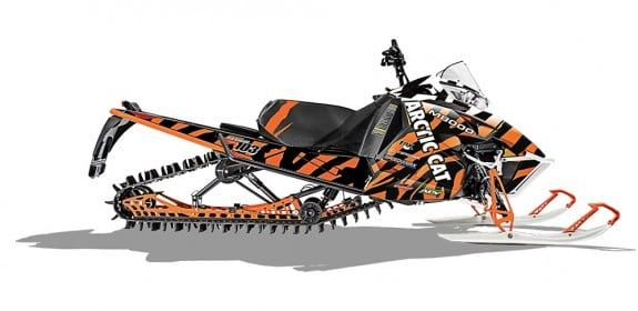 2015 Arctic Cat M 8000 153 Rob Kincaid Special Edition
