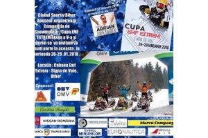 Cupa EMF Extrem Snowmobile are loc in acest weekend