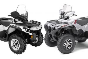 2018 Can-Am Outlander North Edition 650 vs. Yamaha Grizzly EPS LE