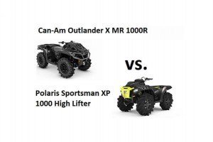 Can-Am Outlander Xmr 1000R vs. Polaris Sportsman XP1000 High Lifter