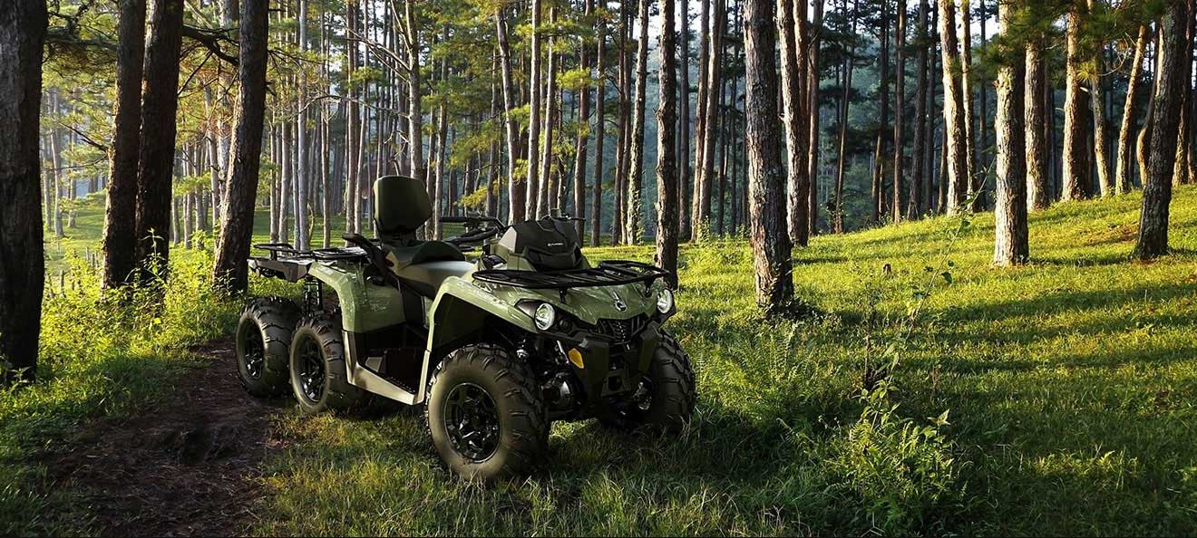 Banner ATV 6x6 Can-am  Bombardier 1