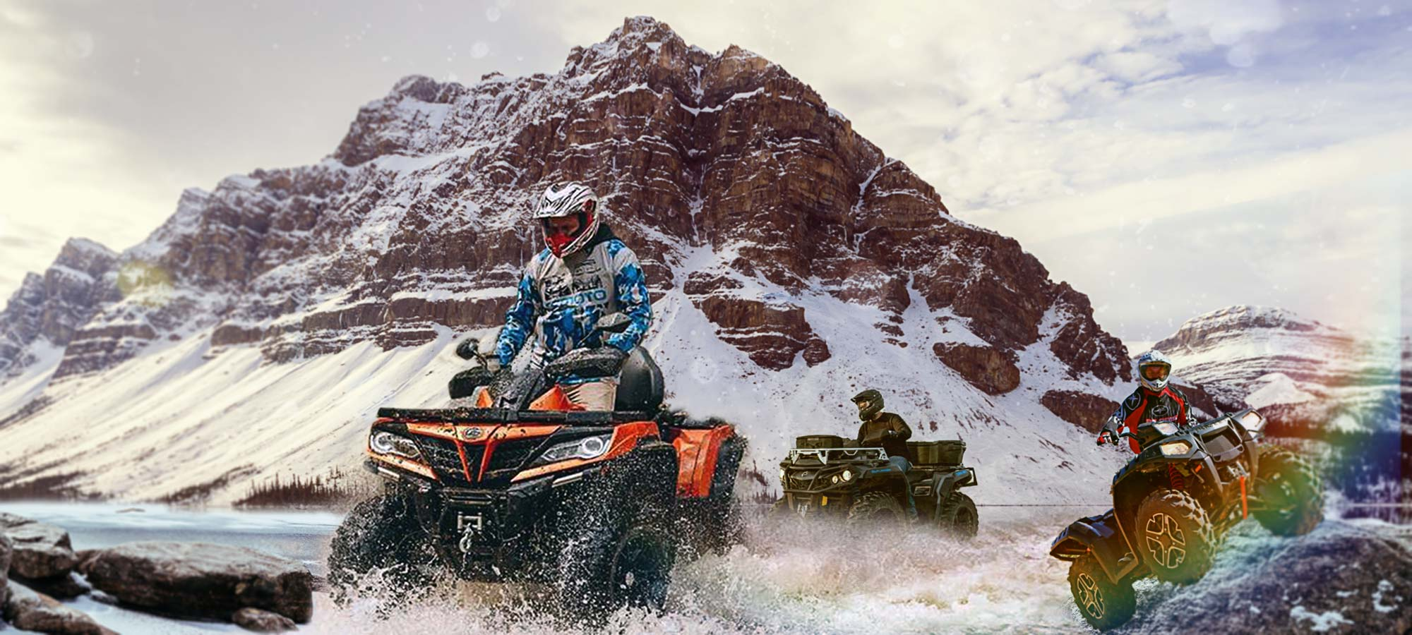 Banner ATV Can-am  Bombardier  1