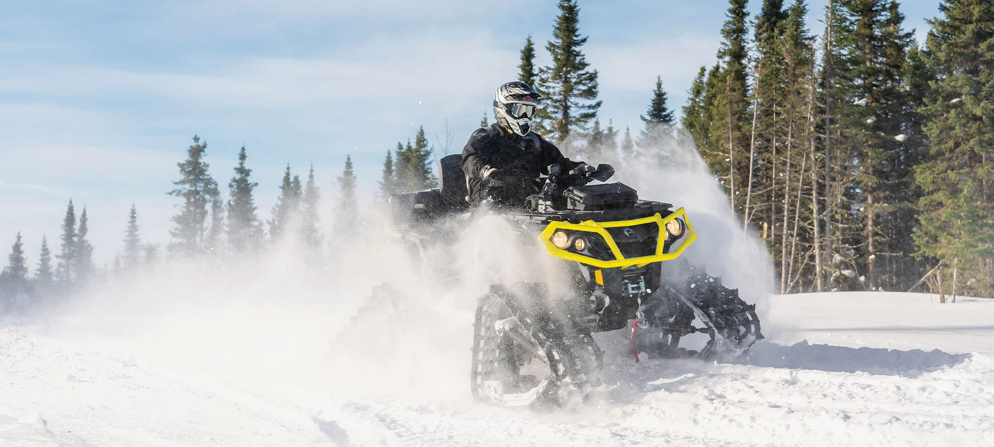 Banner ATV Can-am  Bombardier 2021 1