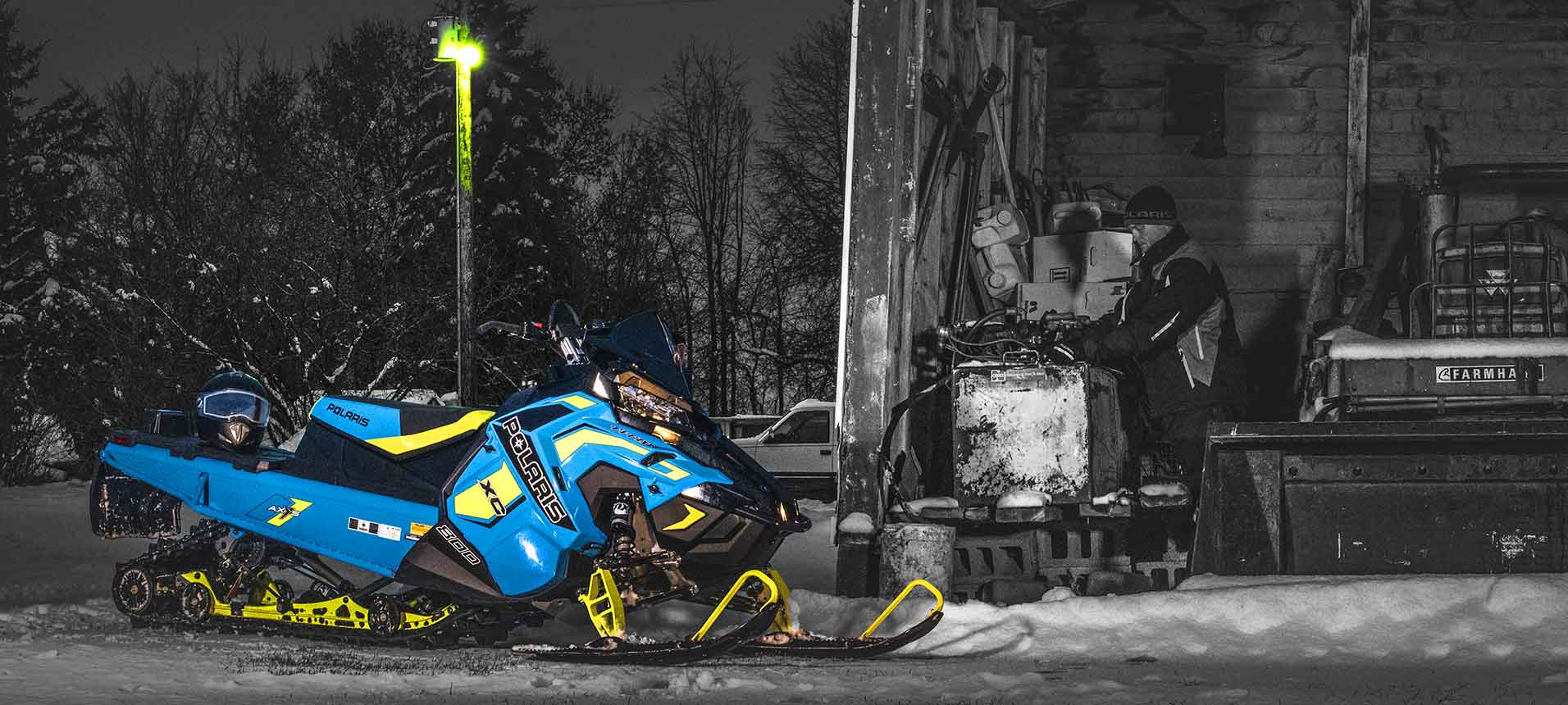 Banner SNOWMOBILE Polaris 2018 1