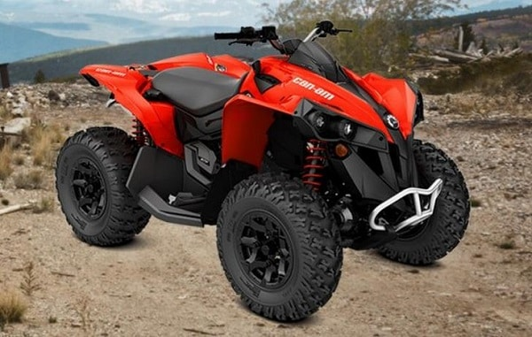 Review Lineup Can-Am Renegade 2018 - can am