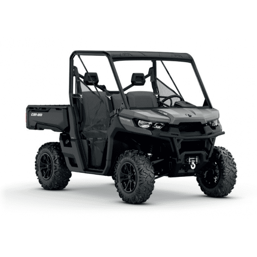 Can-Am Traxter XT HD10 Pure Magnesium Metallic '18