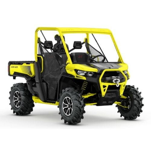 Can-Am Traxter X mr HD10 Carbon Black & Sunburst Yellow '18