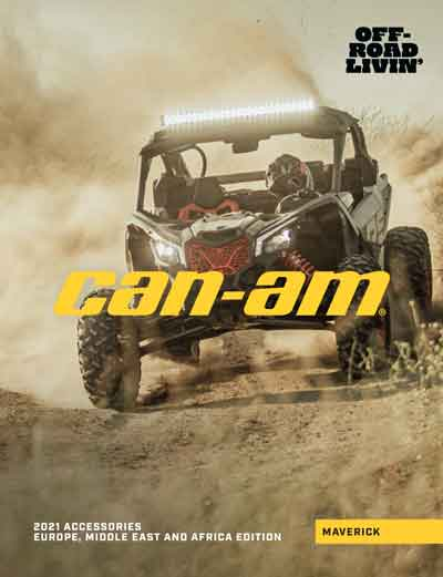 Catalog accesorii SXS Can-Am 2021