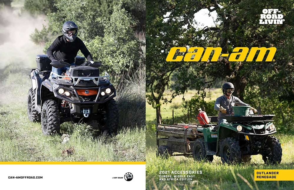 Catalog accesorii ATV Can-Am 2021